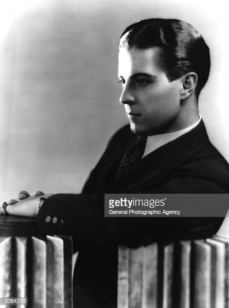 Hollywood actor Ramon Novarro .