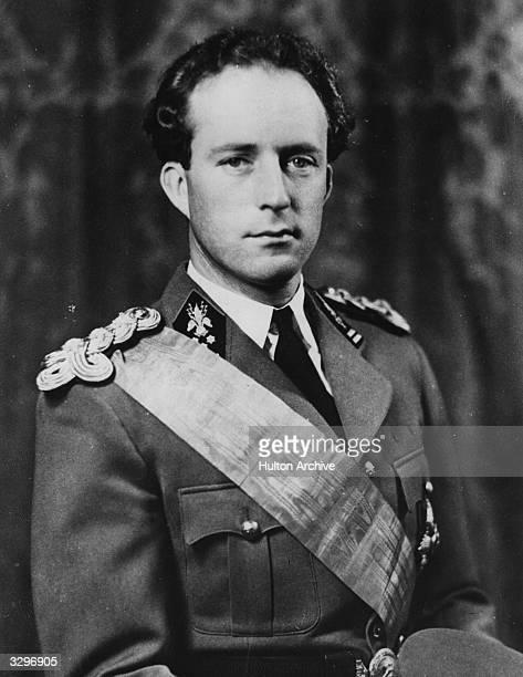 Photographic portrait of King Leopold III of Belgium