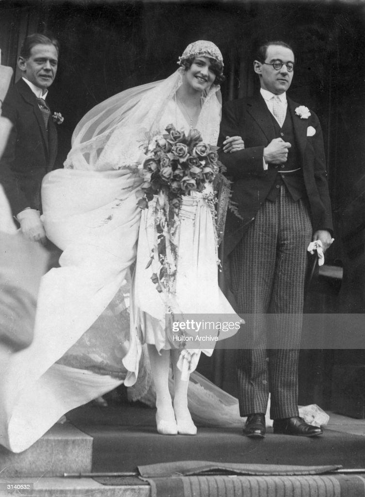 Von Bismarck Wedding : News Photo