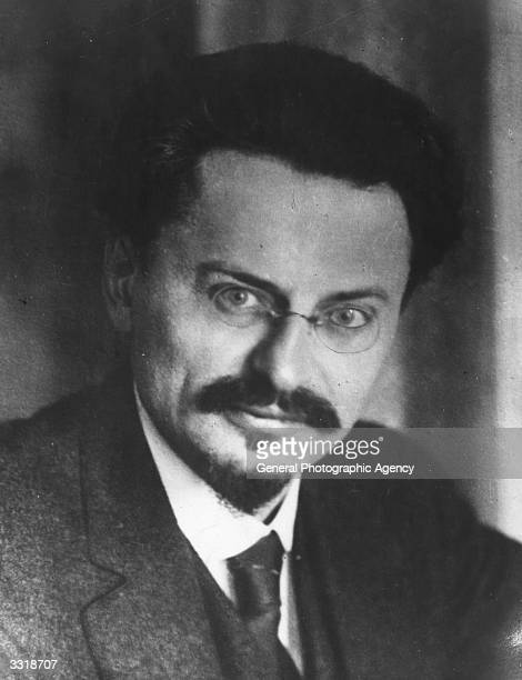 Russian Jewish revolutionary Leon Trotsky born Lev Davidovich Bronstein