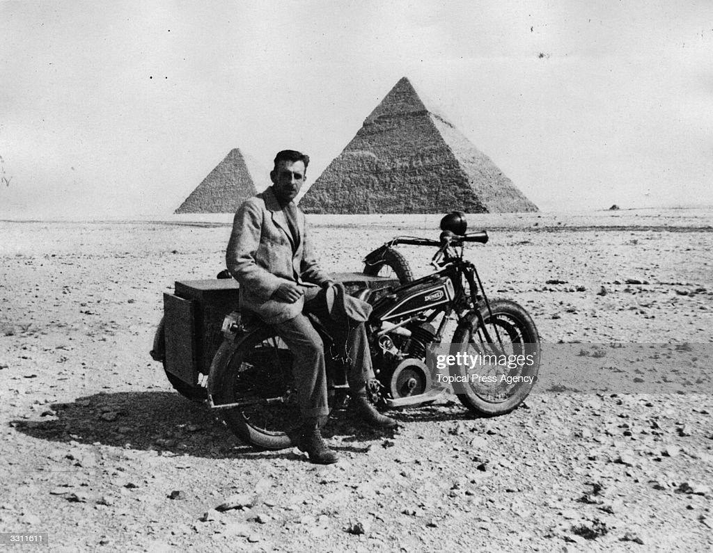 Motorbike Traveller : News Photo
