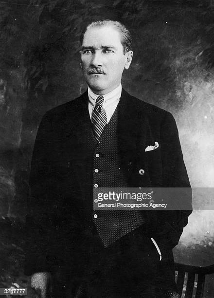 Turkish leader Kemal Ataturk born Mustafa Kemal in Salonika