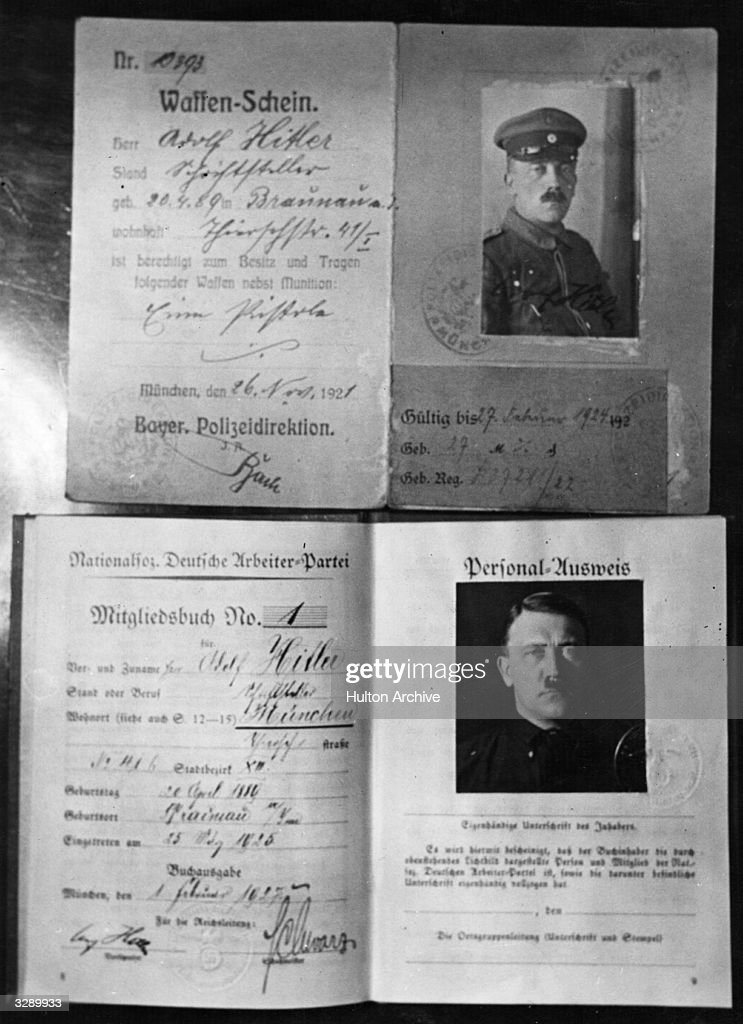 Hitler's Papers : News Photo