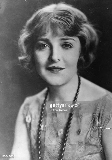 Australian actress Enid Bennett who appeared in various Hollywood movies during the 1920s She is currently filming 'The Fool's Awakening' a Metro...