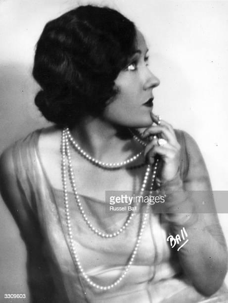 Gloria Swanson formerly G Svensson the American leading lady who began her career as a Mack Sennett bathing beauty
