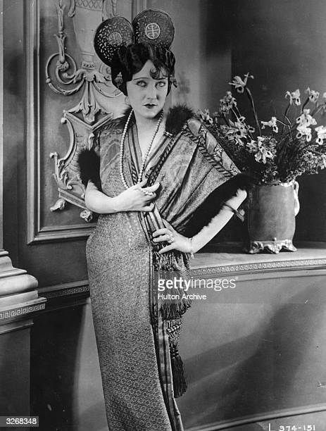 Gloria Swanson formerly Svensson the American leading lady who began her career as a Mack Sennett bathing beauty