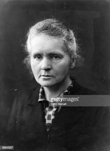Marie Curie the Polish scientist and Nobel prizewinner