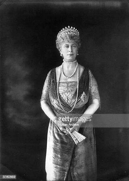 Queen Mary , wife of George V, the King of England.