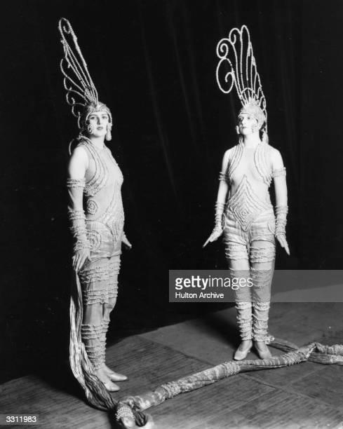 The Folies Bergere dancers at the London Palladium