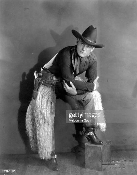 American actor Buck Jones who starred in Westerns in the 20s but died young from burns following an accident