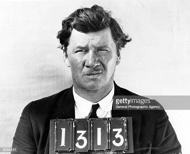 George Bancroft the most 'wanted' film actor in Hollywood He shot four people in 'Pony Express' committed murder in 'The Enchanted Hills' 'The...