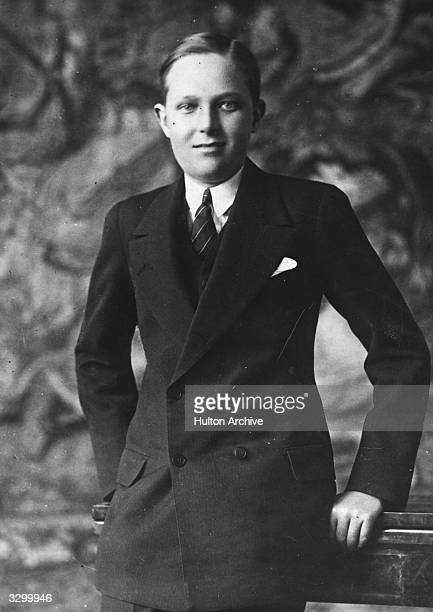 Alfonso Prince of Asturias Crown Prince of Spain the eldest son of King Alfonso XIII of Spain He has a great interest in raising pigs and keeps...