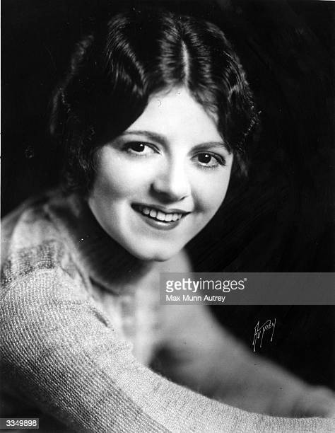 American actress Janet Gaynor the stage name of Laura Gainer the winner of the first 'Best Actress' Oscar