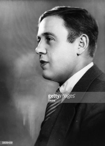 Charles Laughton , the English born film actor who starred in 'The Cherry Orchard' at The Old Vic in London.