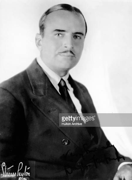 Douglas Elton Fairbanks Snr, originally Ullman , the American film actor. He first appeared on the stage then progressed into films in 1915, where he...