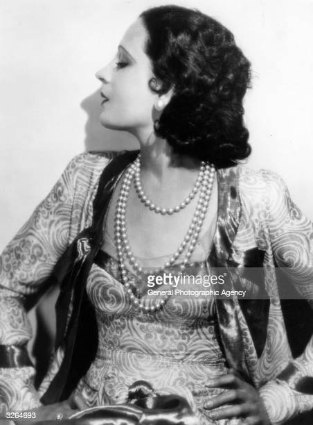 Juliette Compton the Hollywood actress and performer in the Ziegfeld's Follies
