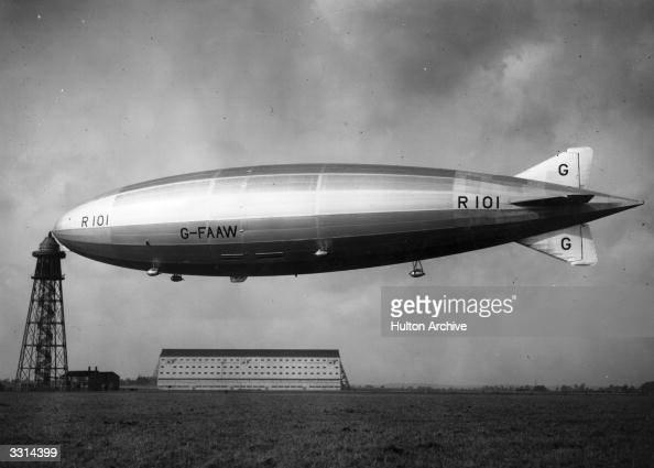 166点の飛行船r101号のストックフォト - Getty Images