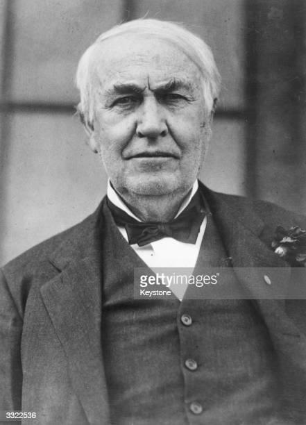 American inventor Thomas Alva Edison
