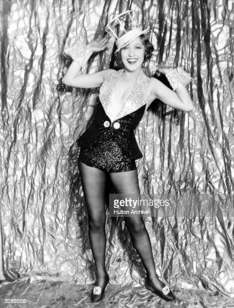 Bessie Love the Hollywood actress and MGM player in a happy allsinging mood