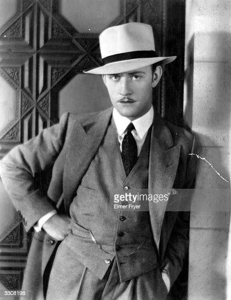 Conrad Nagel the American leading man who became more popular with the advent of sound. He appeared in 'Dynamite'.