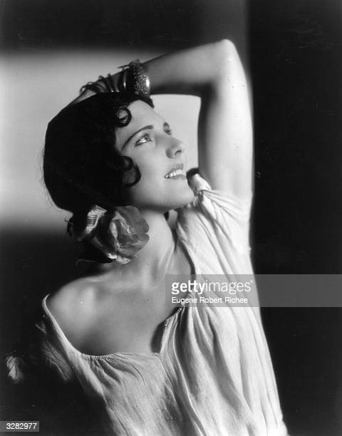 Jean Arthur the stage name of Gladys Greene the American leading actress contracted to Paramount is doing her impression of Spain's original flapper...