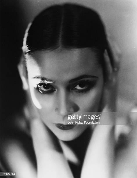 Mexican film star Dolores Del Rio .