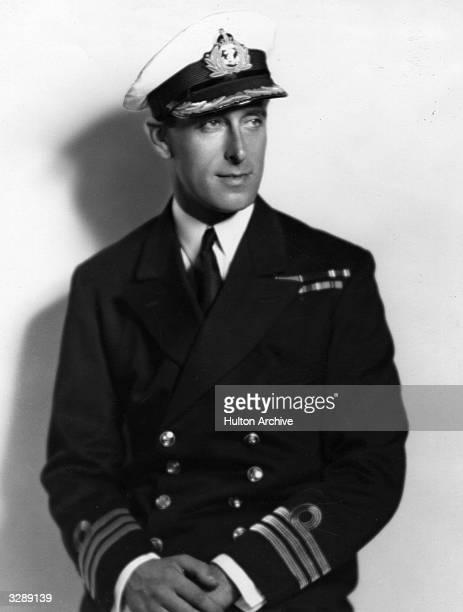 1st Earl Mountbatten in his naval uniform