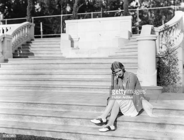 Actress and star of 'Broadway Vagabond' Joan Bennett