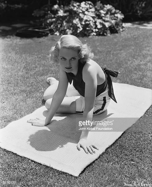 American actress Bette Davis who was born in Lowell Massachusetts and studied at two drama schools before being signed to Universal in 1930