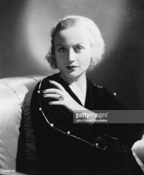 American film actress Carole Lombard Known as 'The Profane Angel' she became noted for her coarse language practical jokes and lavish parties
