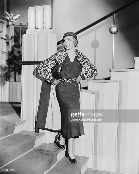 American film actress Carole Lombard the star of several Mack Sennett comedies before her rise to fame