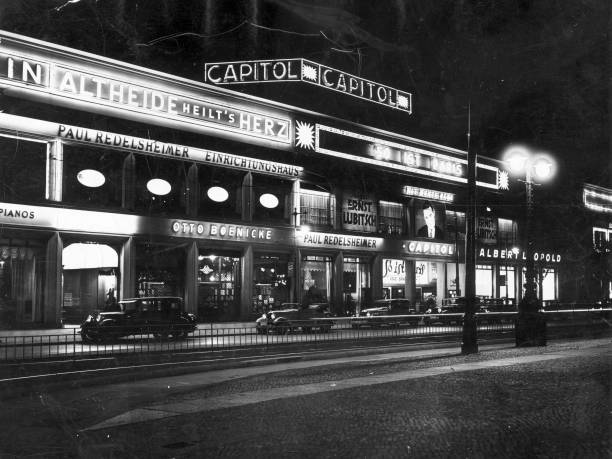 An exterior view of the Capitol Cinema, one of Berlin's...