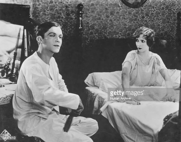 Bessie Love and Glenn Hunter in a film released in Germany as 'Senator und die Tanzerin'