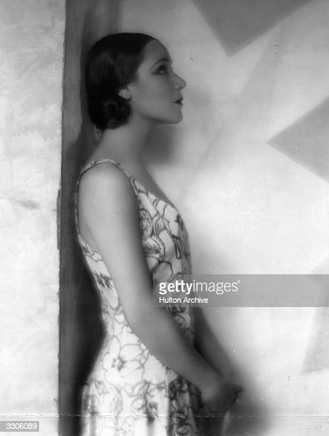 Dolores Del Rio Hollywood film star and wife of MGM's Art Director Cedric Gibbons.