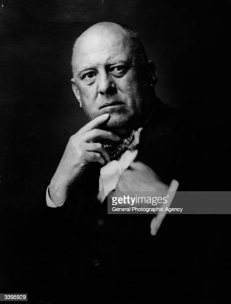 English writer magician and occultist Aleister Crowley as the British head of the Oriental Templars involved in the practice of sexual magic