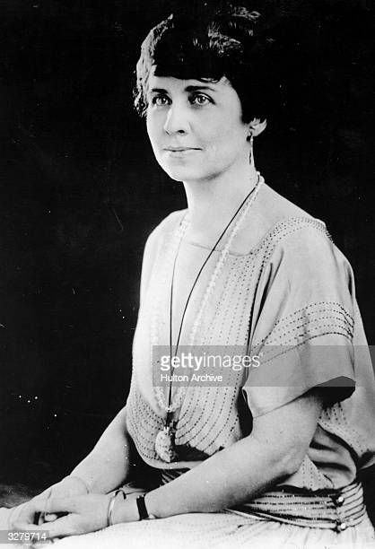 Grace Coolidge nee Grace Goodhue wife of Calvin Coolidge the 30th President of the United States of America who she married in 1905