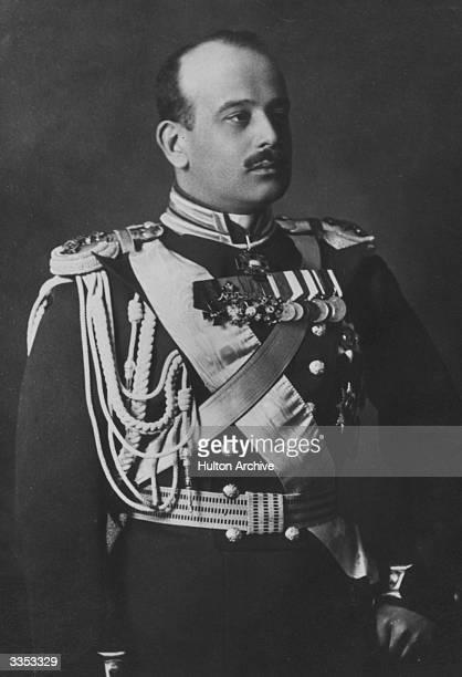 Grand Duke Boris Vladimirovitch of Russia in military uniform