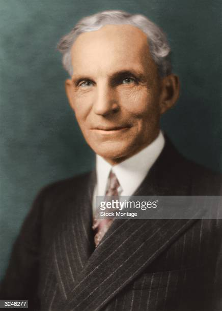 Henry Ford American automobile manufacturer and organizer and president of the Ford Motor Company