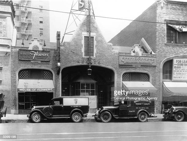Henry's restaurant on Hollywood Boulevard which was financed by Charlie Chaplin when it first opened