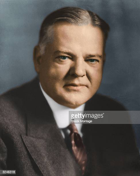 Herbert Hoover , thirty-first president of the United States of America.