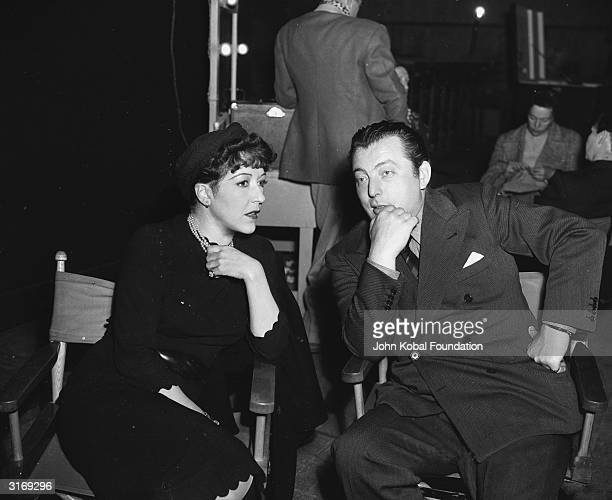 Hollywood director Lewis Milestone , born Lev Milstein in Russia, with actress Aileen Pringle .