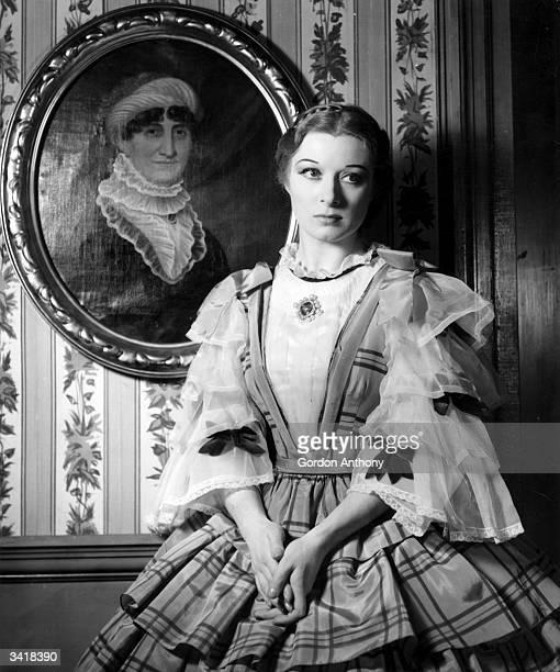 Hollywood film actress Greer Garson