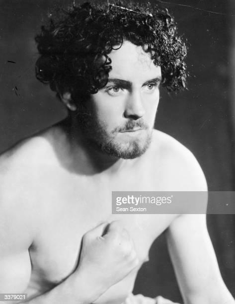 Irish heavyweight boxer Jack Doyle