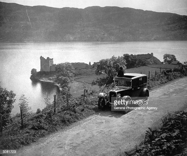 Loch Ness in Scotland which is famed for its mythical monster References to a monster in Loch Ness date back to St Columba's biography of AD 565...