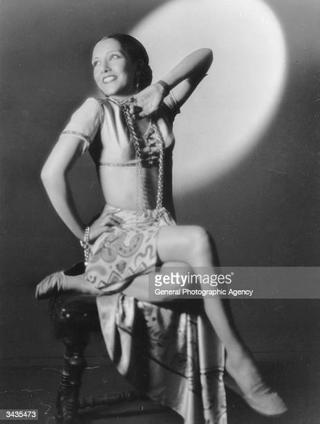 Mexican actress Lupe Velez voluptuous star of several Hal Roach tworeelers