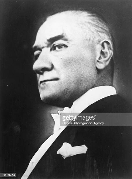 Mustafa Kemal Ataturk Turkish politician general and first president of Turkey from 1923