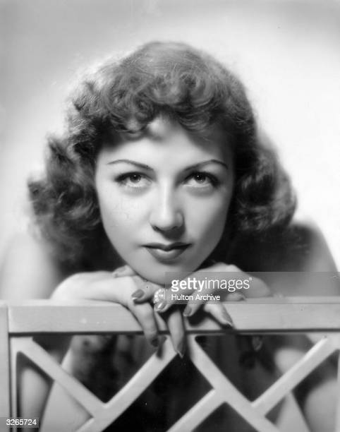 Phillipa Hilbert, the Hollywood film actress who was signed up by 20th Century Fox.