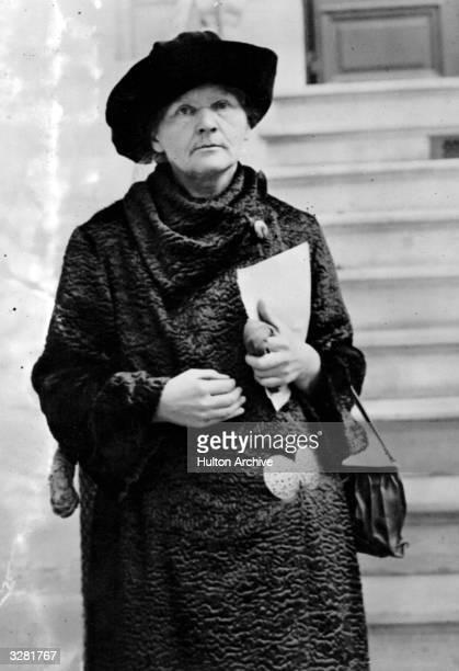 Polishborn French physicist Marie Curie