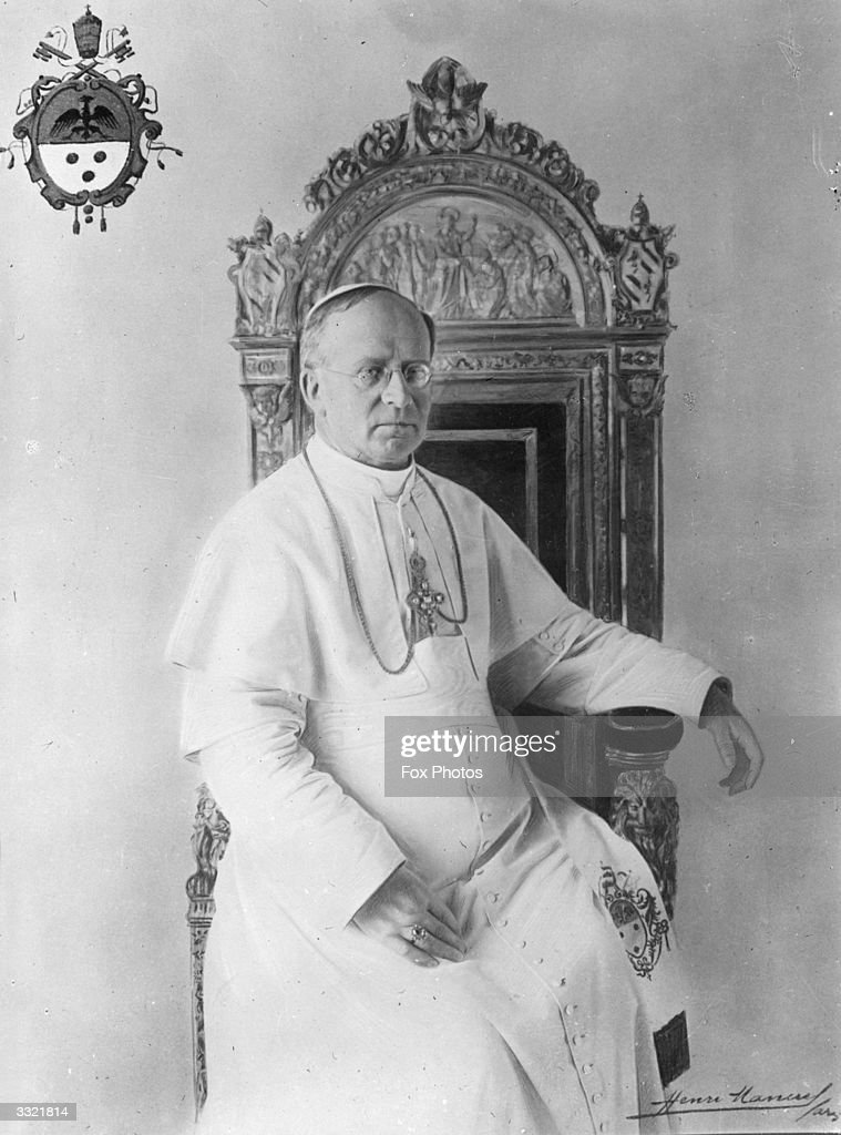 Pope Pius XI : News Photo