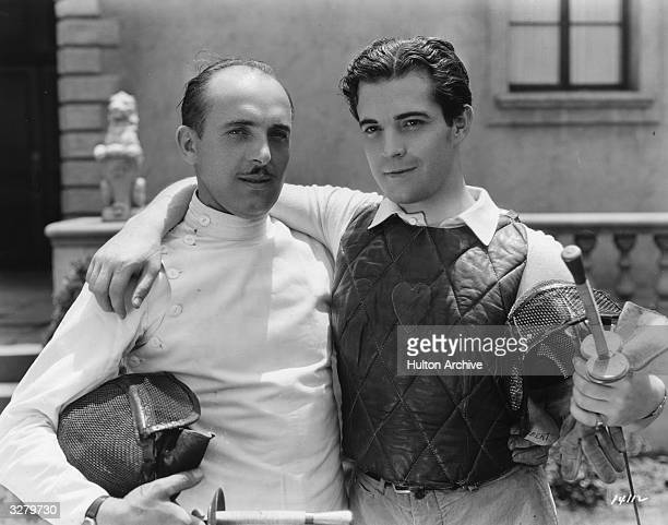 Ramon Novarro , Hollywood film star and actor, signed by MGM.